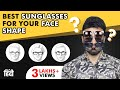 Sunglasses for Your Face Shape for Men in Hindi