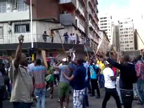 Foreigners in Johannesburg Ready to Face Violent South Africans
