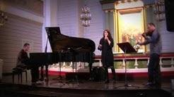 Sanni Orasmaa / Tino Derado / Gregor Huebner - Concert opening at Mäntyharju Church, Finland