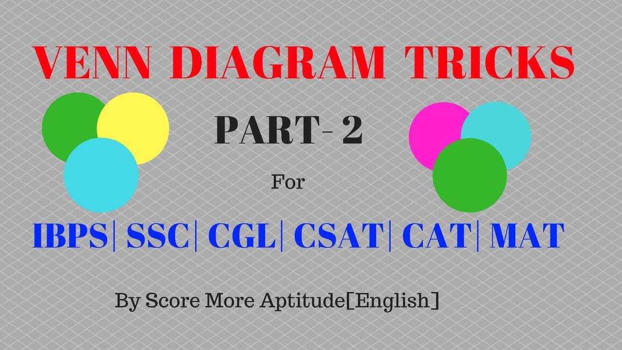 Venn diagram tricks for bank po clerk ssc cgl part 2 youtube venn diagram tricks for bank po clerk ssc cgl part 2 ccuart Choice Image