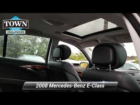 Used 2008 Mercedes Benz E Class Luxury 3.5L, Englewood, NJ A2182081A