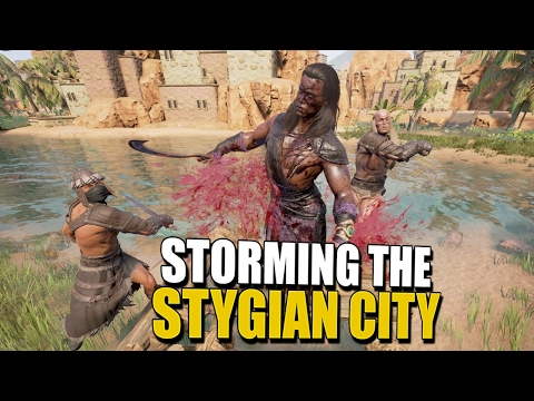 STORMING THE STYGIAN CITY AND BEYOND Conan Exiles CoOp Survival 6
