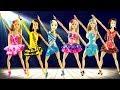 Play doh disney princess Barbie Rapunzel Cinderella   Dance play doh dresses