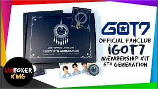 GOT7 갓세븐 ️ iGOT7 Official Fanclub Membership Kit 5th Generat…