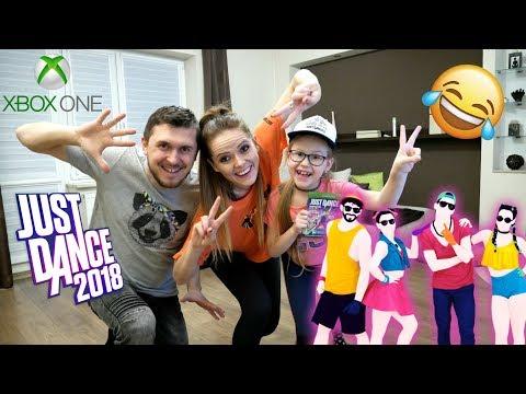 JUST DANCE 2018 CHALLENGE - TAŃCZYMY DESPACITO i SHAKIRA  WAKA WAKA   ŚMIESZNY FILMIK