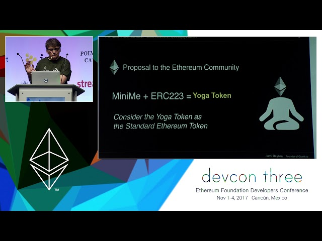 The Future of Token Contracts: MiniMe, Governance, LiquidPledging & ERC223