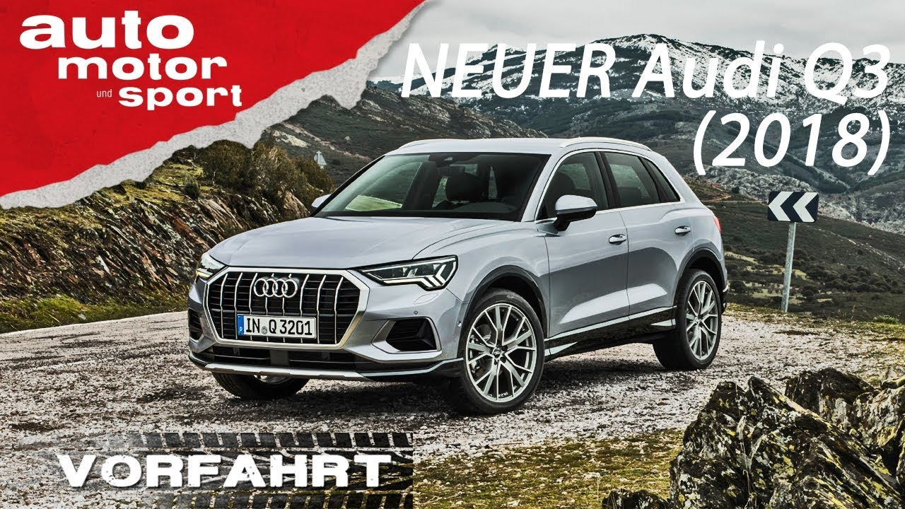 neu audi q3 2018 der bessere tiguan vorfahrt review. Black Bedroom Furniture Sets. Home Design Ideas