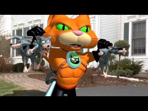 Catseye Pest Control Commercial with Animation (2010)
