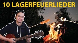 10 SUPER EINFACHE Lagerfeuerlieder (auf der Gitarre)