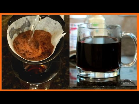 Coffee Pour Over With Melitta Single Cup Coffee Maker