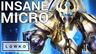 StarCraft 2: INSANE PROTOSS MICRO!