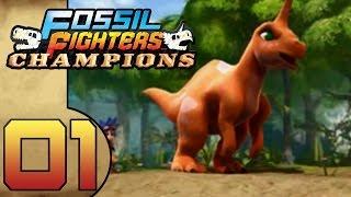 Fossil Fighters Champions (DS) Part 1 (It