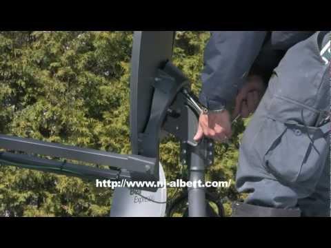 Internet haute vitesse Viasat de Xplornet / NJ Albert telecom