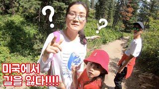 미국에서 길을 잃은 라임가족! 초 난감 상황 | 라임가족의 캠핑카 타고 세계여행 grand teton 편