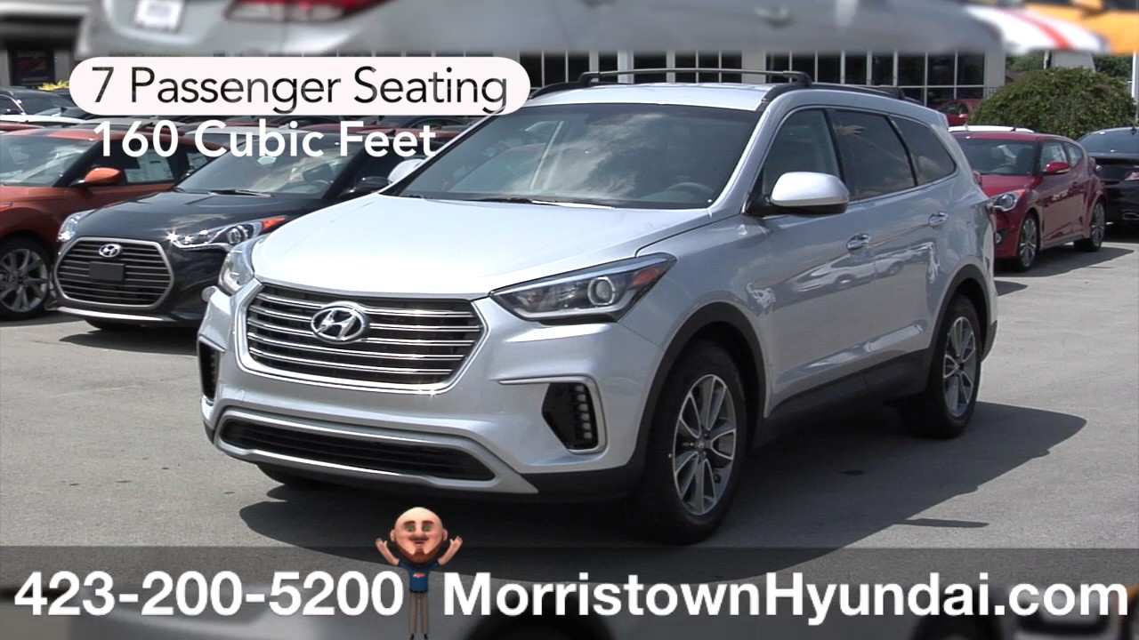 2017 Hyundai Santa Fe Awd Knoxville Engine Cargo Space For Sale