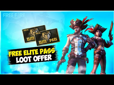 How To Get Free Elites Pass In Free Fire 🔥!! New Year Loot Free Elite Pass !! Free Fire New Event