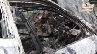 Publication Date: 2017-05-18 | Video Title: 本田失車薄扶林起火 燒成廢鐵得個殼