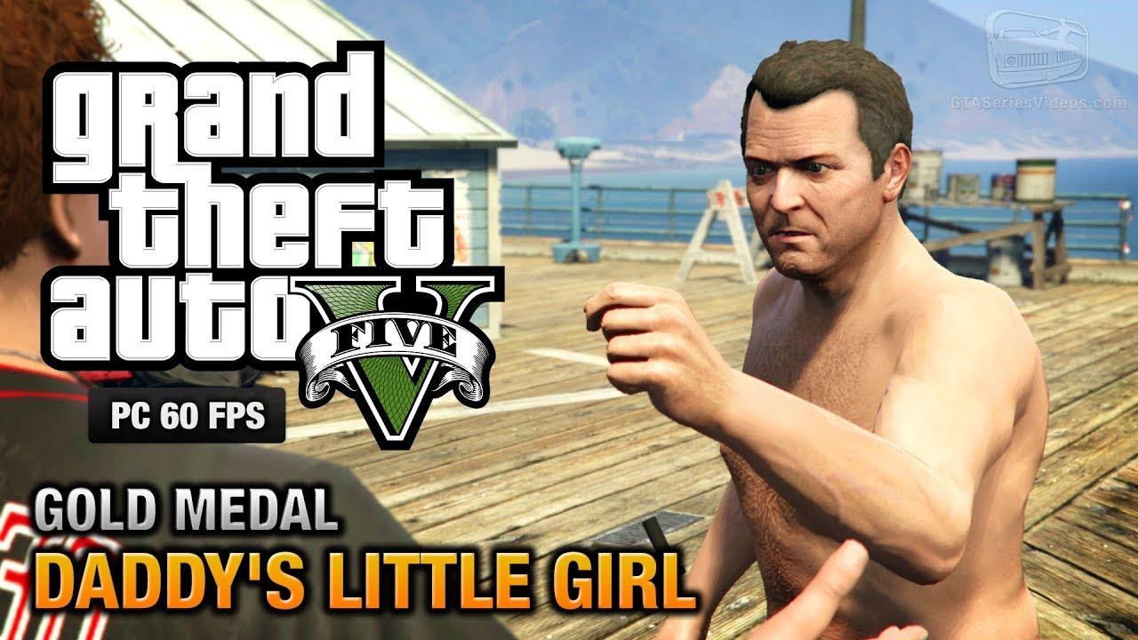 GTA V MISSION NO 8 | DADDY LITTLE GIRL | GTA 5 GAMEPLAY