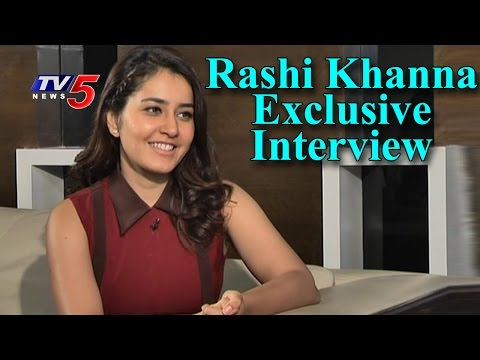Rashi Khanna Exclusive Interview | Nava Nayika | Telugu News | TV5 News