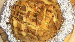 Cheesy Bacon Garlic Pullapart Bread Cheekyricho Video Recipe Episode 1,029