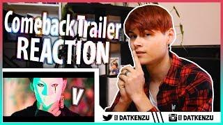 BTS LOVE YOURSELF Tear 'Singularity' Comeback Trailer   KPOP REACTION (German/Deutsch)   Kenzu