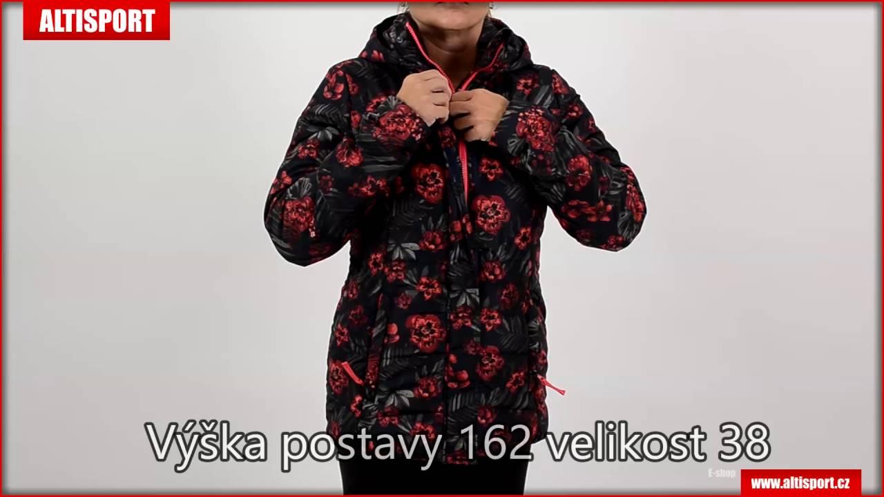 aee97adcb01 dámská zimní bunda loap tamana clw1688 tmavě modrá - YouTube