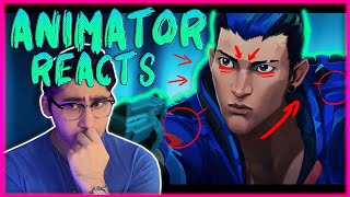 ANIMATOR REACTS to RETAKE // Episode 2 Cinematic - VALORANT REACTION