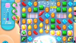 Candy Crush Soda Saga Level 757 - NO BOOSTERS