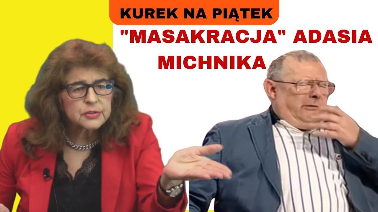 """Dr Ewa Kurek o Adamie Michniku. Mega ciekawy wywiad  Wiktora Jerofiejewa z Michnikiem """"Rosja w"""