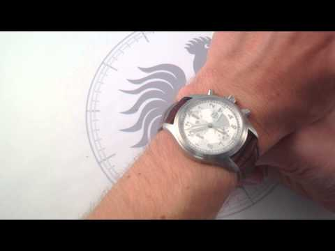 IWC Spitfire Chronograph 3706-23 Luxury Watch Review