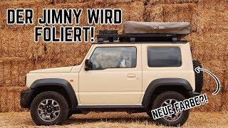 Der Suzuki Jimny bekommt eine Folierung der Extraklasse! Geiler geht nicht 🔥😍 // FREUNDSHIP