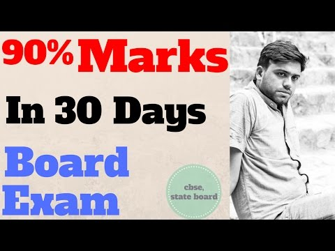 How To Get 90% Marks In board Exam/ CBSE, State board Exam