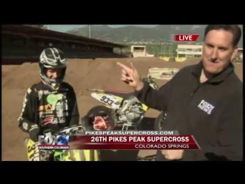 Pikes Peak SUPERCROSS - FOX21 Morning News - Part 4