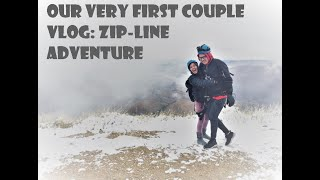 Our Very First Couples Vlog at Sundance Resort: Zip-line Adventure