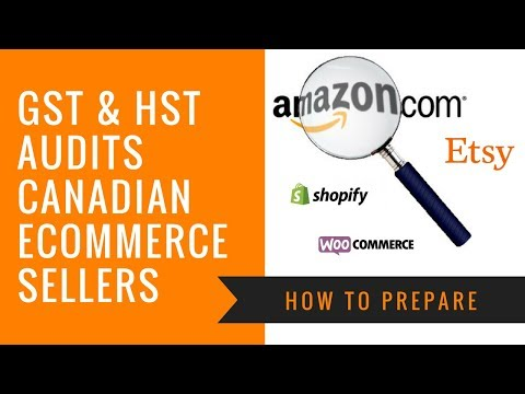 HST And GST Audits For Canadian Amazon And Ecommerce Sellers