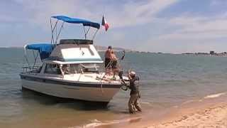 Cabin Cruiser for Sport Fishing Trips in the Sea of ​​Cortez.