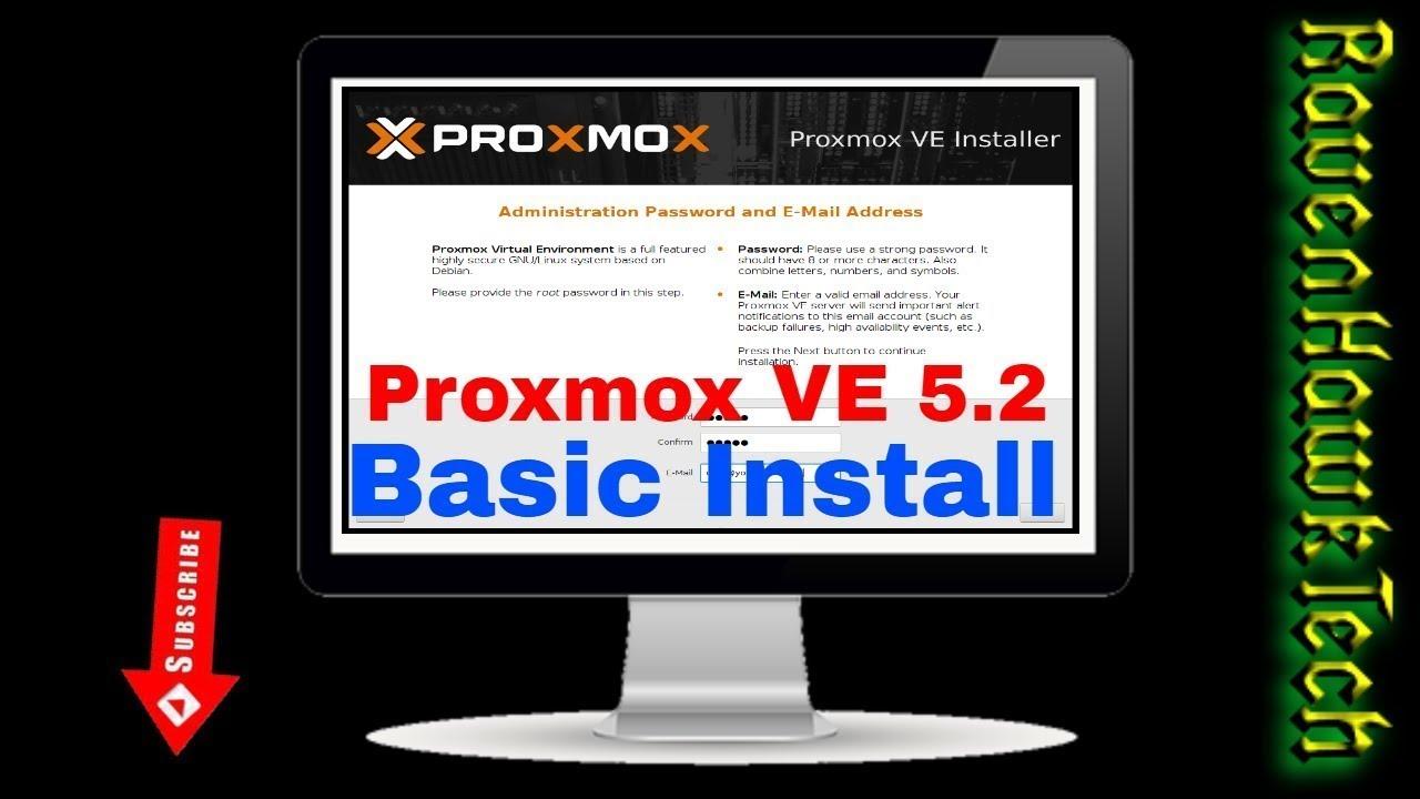 Installation of Proxmox VE 5 2 nested in VMware ESXi