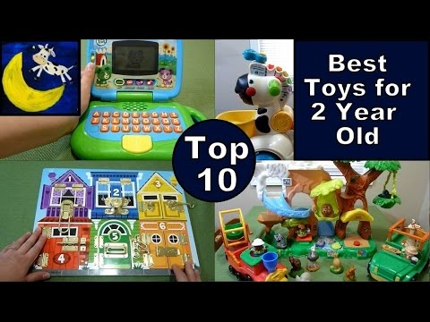 TOP 10 Best Toys for 2 Year Old! LeapFrog, Vtech, Fisher Price, Melissa & Doug and MORE!!!