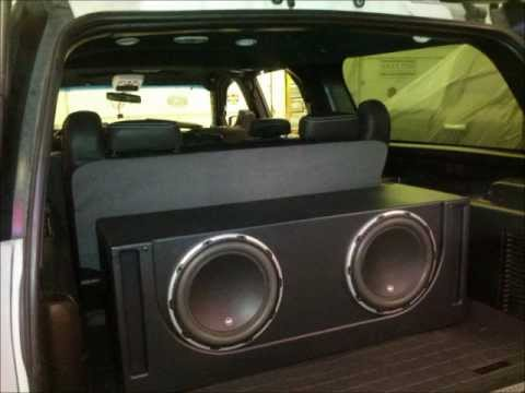 2003 Suburban Custom Interior - YouTube