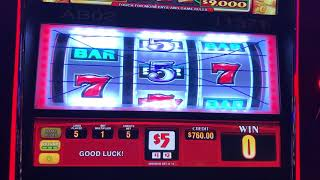 Triple Gold Slot Machine - High Limit - $25/spin