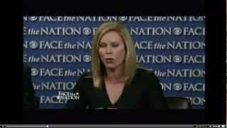 Stephanie Cutter on Face The Nation Attacking Romney's Bain Record