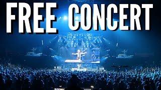 FREE CONCERT!! + TRAVEL VLOG TO USA