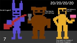 Beated the Original Crew !-Five nights at freddy