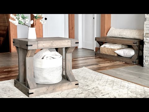 easy-to-build-modern-farmhouse-side-table-#anawhite