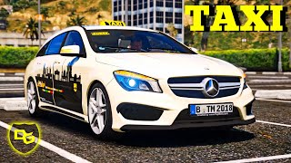 TAXI TAXI 🚖  - GTA 5 Real Life #9 - Daniel Gaming - Deutsch