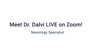 Meet Dr. Dalvi LIVE on Zoom!: Webinar Wednesday 9/30/2020