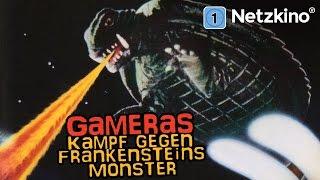 Gameras Kampf gegen Frankensteins Monster (Fantasy, ganzer Film)