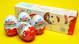 Unboxing Kinder Surprise Egg with Toys
