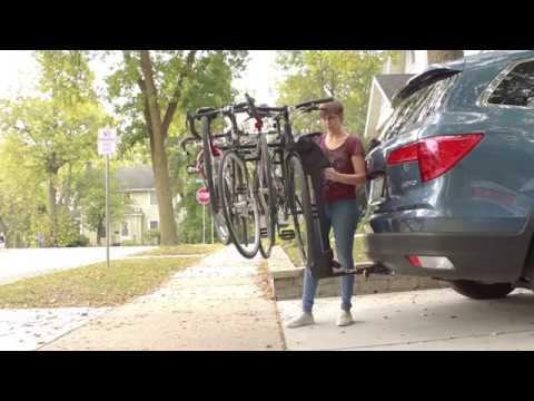 saris axis aluminum 3 bike hitch rack