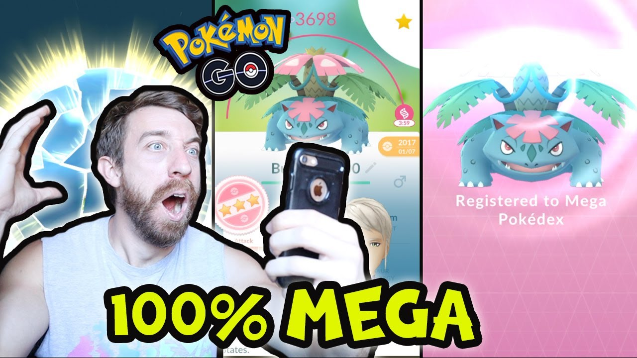 HOW TO GET MEGA EVOLVED POKEMON! (POKÉMON GO)